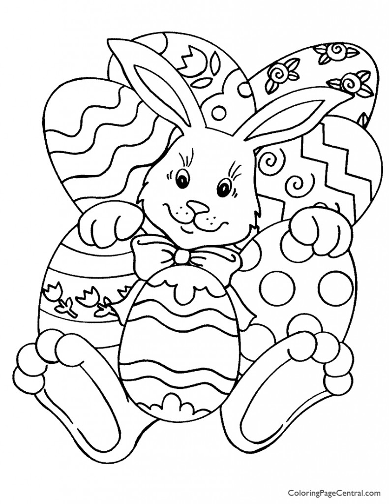 Easter 01 Coloring Page Coloring Page Central Princess Easter Coloring Pages