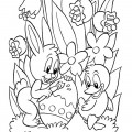 Easter 02 Coloring Page