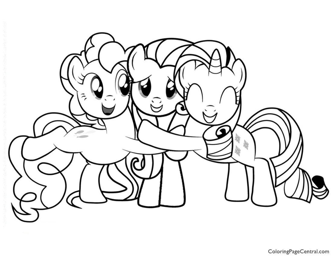 my little pony u2013 friendship is magic 02 coloring page coloring