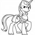 My Little Pony - Prince Shining Armor 01 Coloring Page