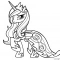 My Little Pony - Princess Cadence 01 Coloring Page