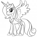 My Little Pony - Princess Luna 02 Coloring Page