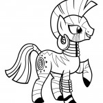 My Little Pony - Zecora 01 Coloring Page