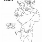 Zootopia - Chief Bogo