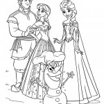 Frozen 01 Coloring Page