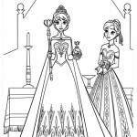 Frozen 10 Coloring Page