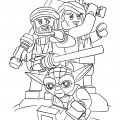 Lego Star Wars 01 Coloring Page