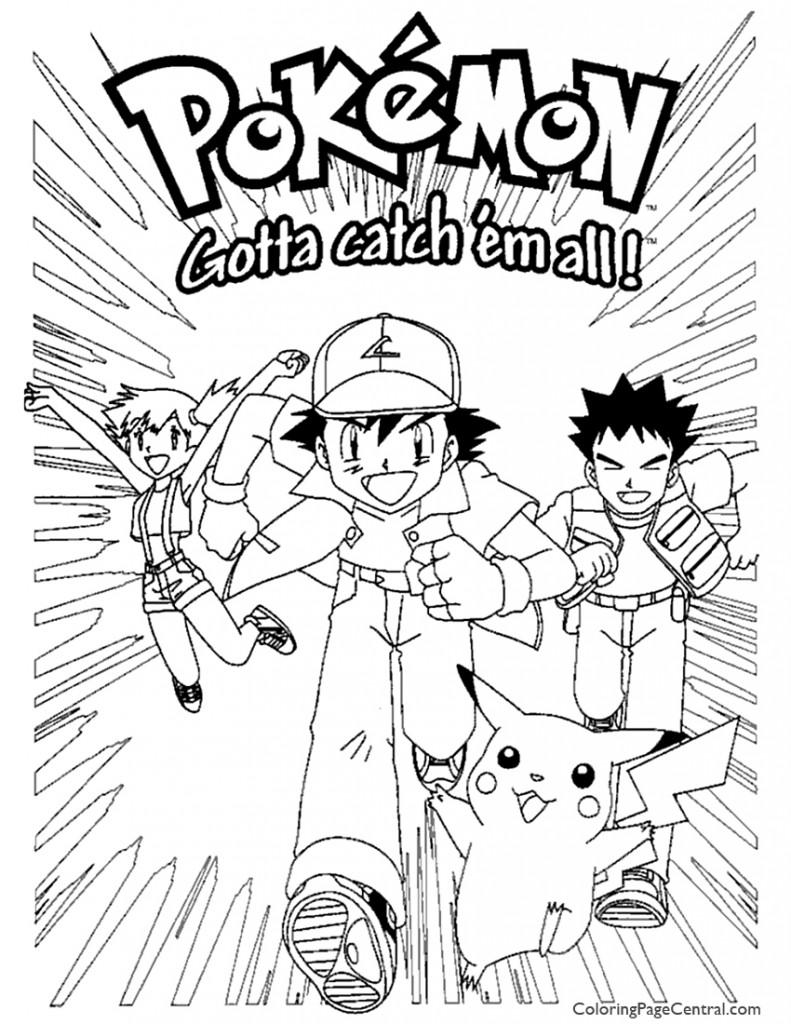 Pokemon Coloring Page 04