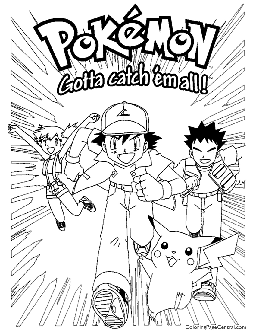 pokemon coloring page 04 coloring page central