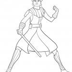 Star Wars - Anakin Skywalker 01Coloring Page