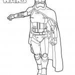 Star Wars - Captain Phasma Coloring Page