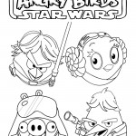 Angry Birds Star Wars 03 Coloring Page