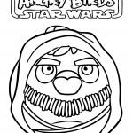 Angry Birds Star Wars - Obi-Wan Kenobi 01 Coloring Page