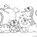 Animals 01 Coloring Page