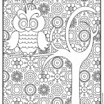Owl 02 Coloring Page