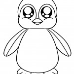 Penguin 01 Coloring Page