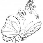 Pokemon - Ash Coloring Page 04
