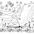 Tinkerbell 03 Coloring Page