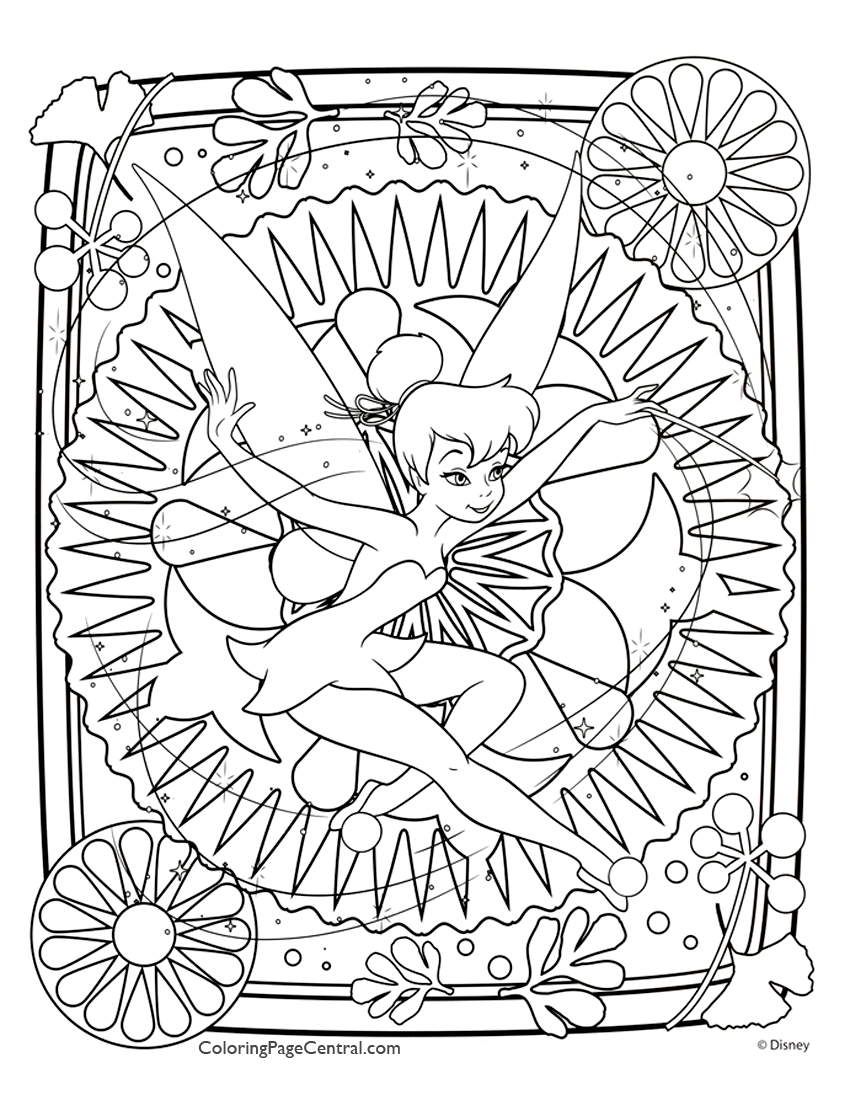 difficult coloring page central