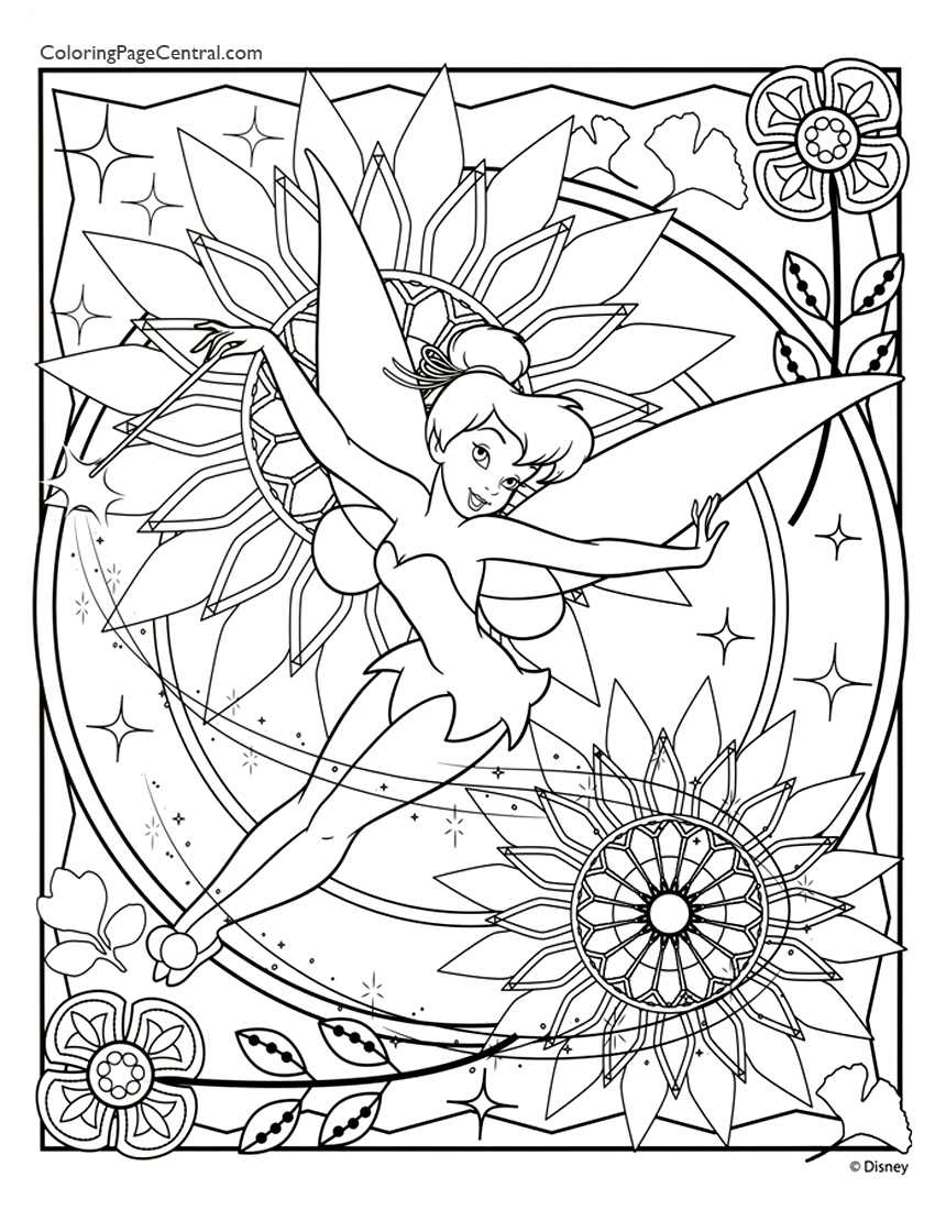 tinkerbell 06 coloring page coloring page central