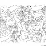 Doctor Who 01 Coloring Page
