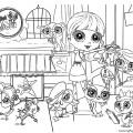 Littlest Pet Shop 01 Coloring Page