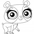 Littlest Pet Shop - Penny Ling Coloring Page