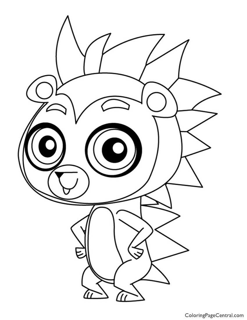 Littlest Pet Shop – Russell Ferguson Coloring Page   Coloring Page ...